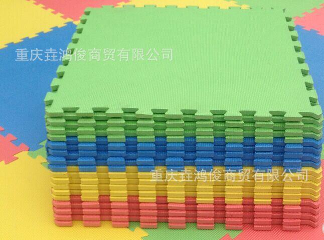 厂家直销EVA儿童地垫 环保泡沫地板60x60防潮防滑泡沫垫拼图批发