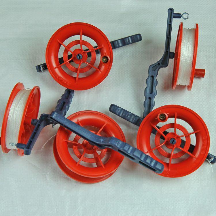 厂家直销 批发潍坊风筝小红轮风筝线轮小风筝用批发整箱优惠