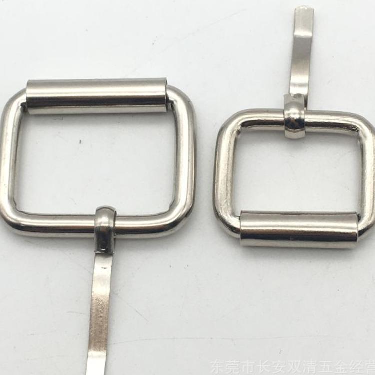 线扣厂家 专业生产金属拉心扣 腰带针扣 方扣 承接来样定制