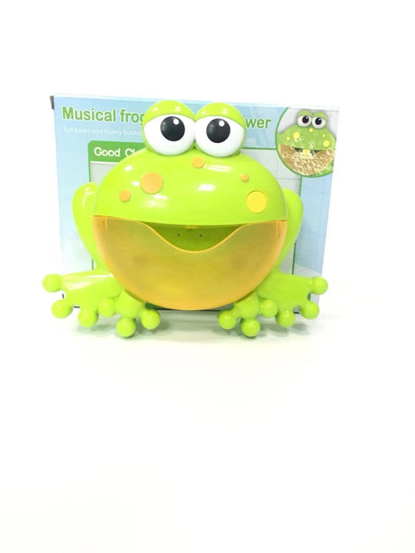 韩国螃蟹青蛙泡泡机 儿童音乐起泡机洗澡沐浴伴侣 创意抖音同款