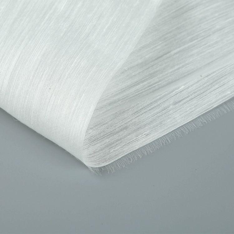 丝绸面料 锦麻绸高档面料高档服装面料白色70%麻舒适透气按需定制