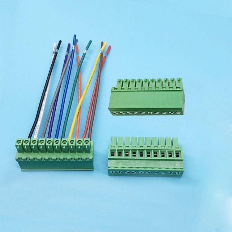 端子台3.81接线端子 插拔式接线端子 接线端子3.81 pcb焊接端子