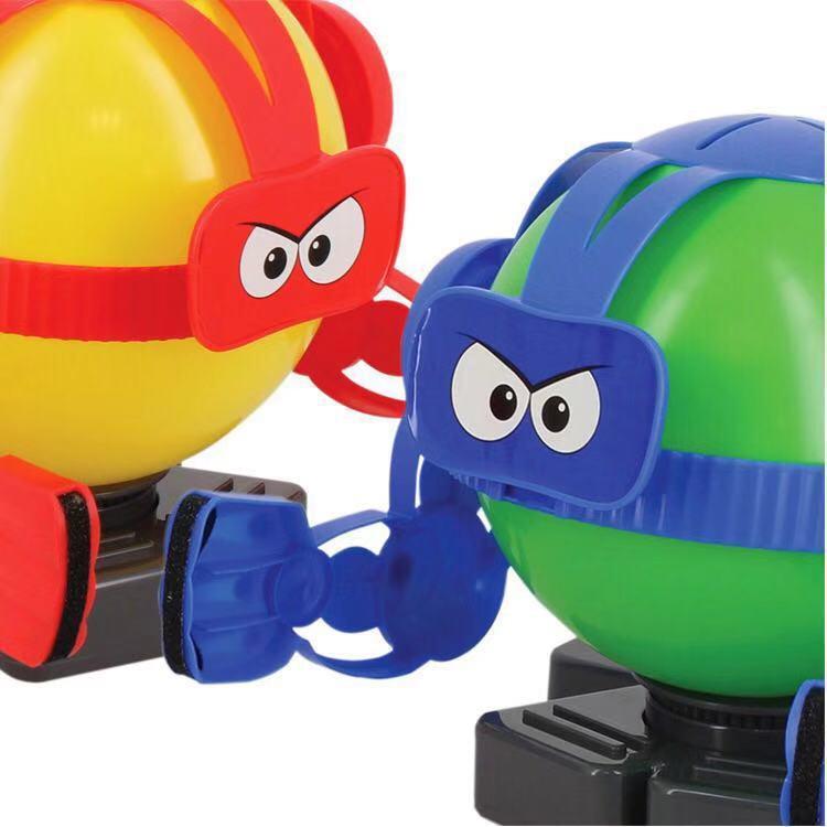 抖音气球 创意竞技互动玩具气球对战机器人搞怪动作操作小玲玩具