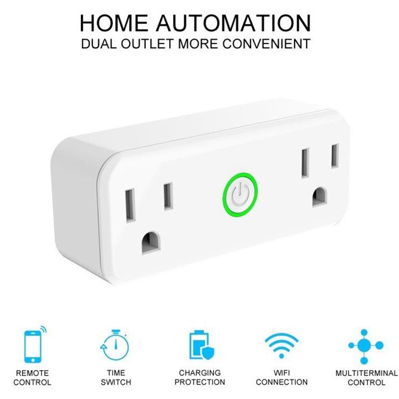 APP手机wifi智能插座分控远程wifi智能插座 遥控无线smart plug