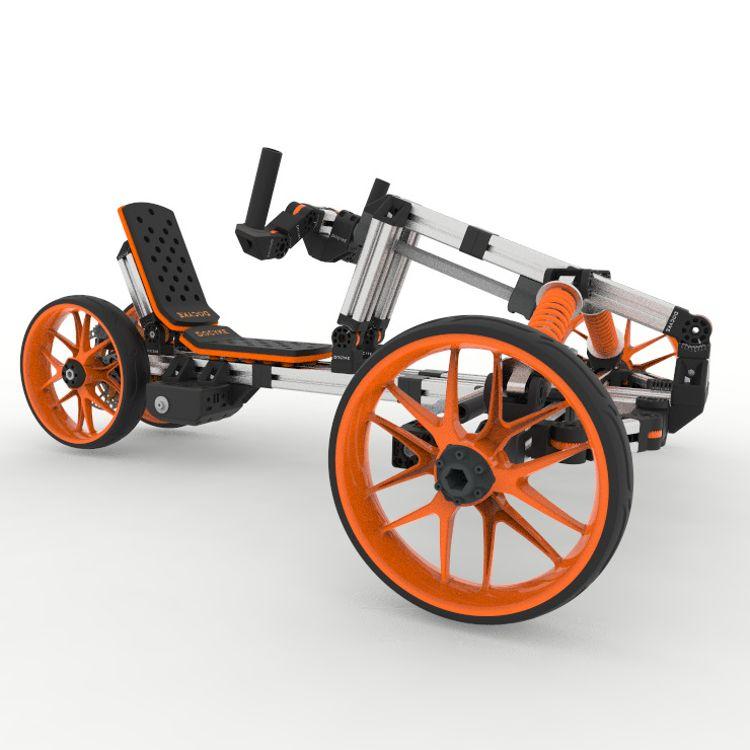无刷折叠任意拼装组合模块化锂电电动滑板车电动卡丁车电动滑板