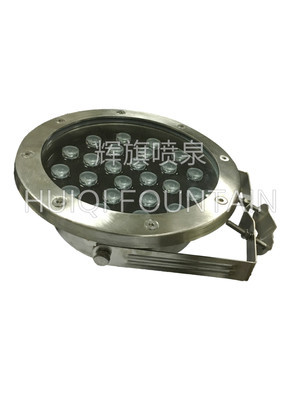 厂家直销拉丝夹管式水底灯HQ-SB24M