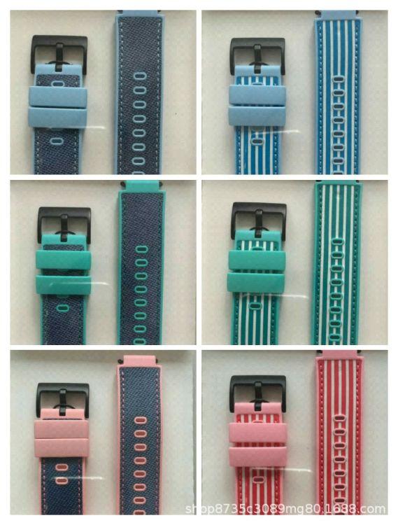 一件代发适用于小天才电话手表Y03/Z3/Z2原装牛仔/条纹酷炫表带