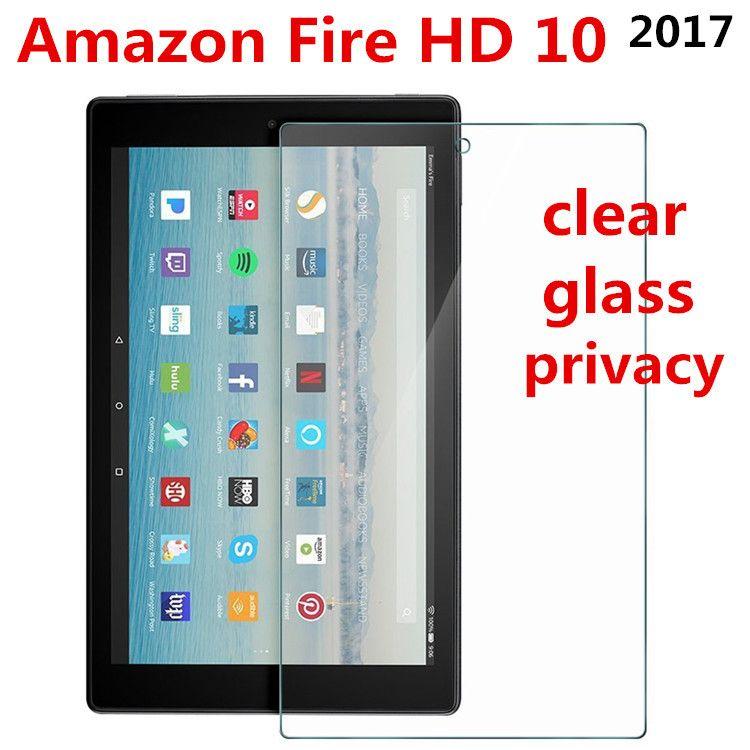 亚马逊2017款Amazon Fire HD10保护膜钢化玻璃膜高清纳米防爆膜