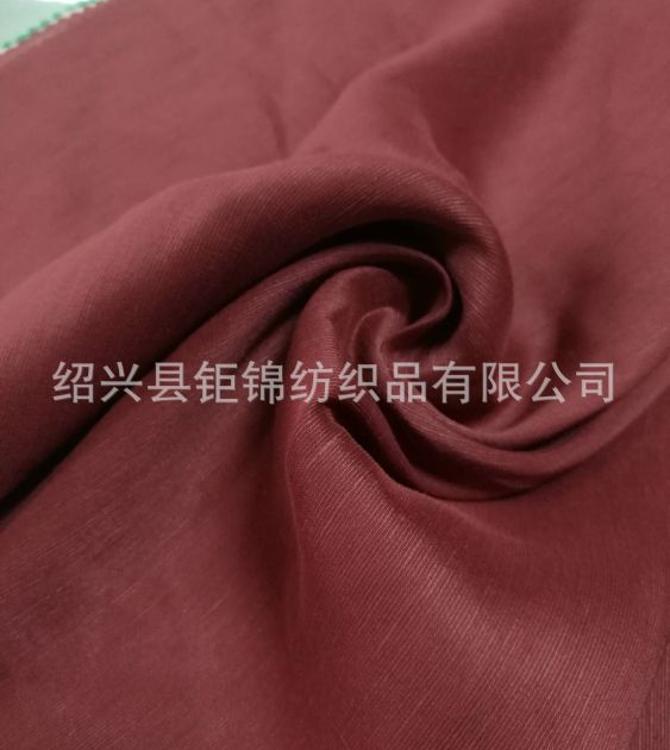 厂家直销真丝面料、麻料、真丝麻混纺面料