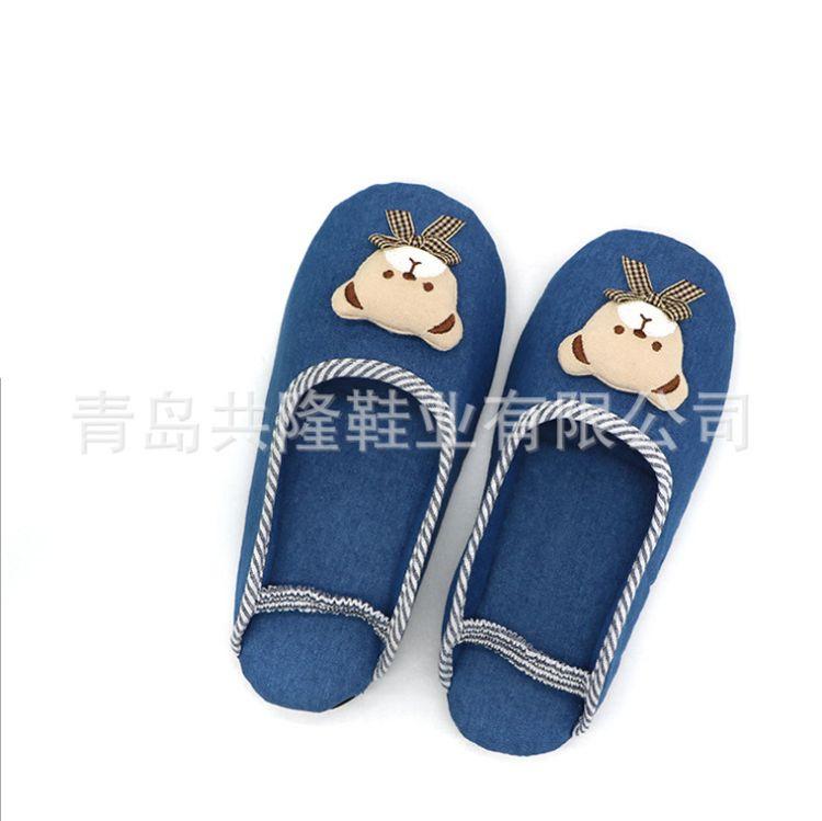 儿童棉拖鞋中大童卡通冬季居家保暖男童加厚外出拖鞋软防滑
