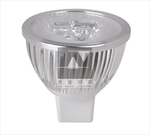 厂家供应MR1612V 3W LED灯杯 LED射灯 超高亮 3W 进口芯片 配\件