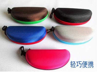 厂家批发定制 时尚EVA太阳镜 多彩眼镜盒 凹印凸印丝印LOGO