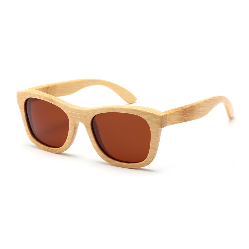 经典款竹子镜框偏光太阳镜时尚儿童环保潮流墨镜外销爆款超轻眼镜