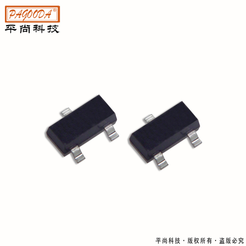 厂家供应SS8050贴片三极管 mmbt3904晶体管 sot-23封装系列