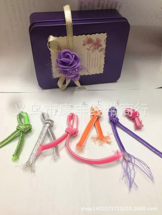 【康丰】 0.5国产头饰橡筋绳 弹性银丝 礼品松紧带 头饰 鞋带