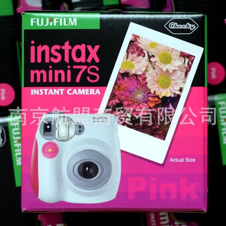 拍立得相纸mini7s相机拍立得相机批发一次成像立拍得相机