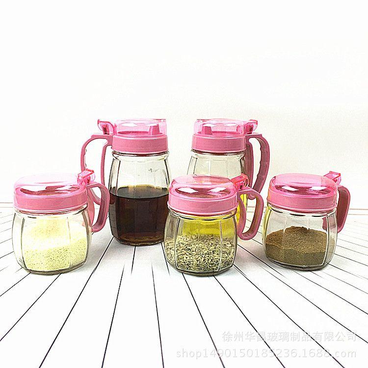 厨房玻璃调味瓶烧烤调料瓶 胡椒粉瓶 厂家批发高品质椒盐瓶带盖