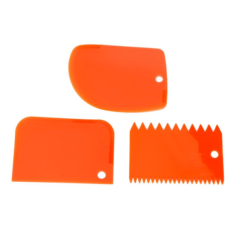 新款彩色刮板三件套 奶油塑料刮板蛋糕 切面刀 环保耐用易清洗