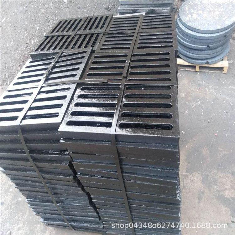 300*500*30球墨铸铁篦子 轻型球墨铸铁雨水盖板 排水沟盖板