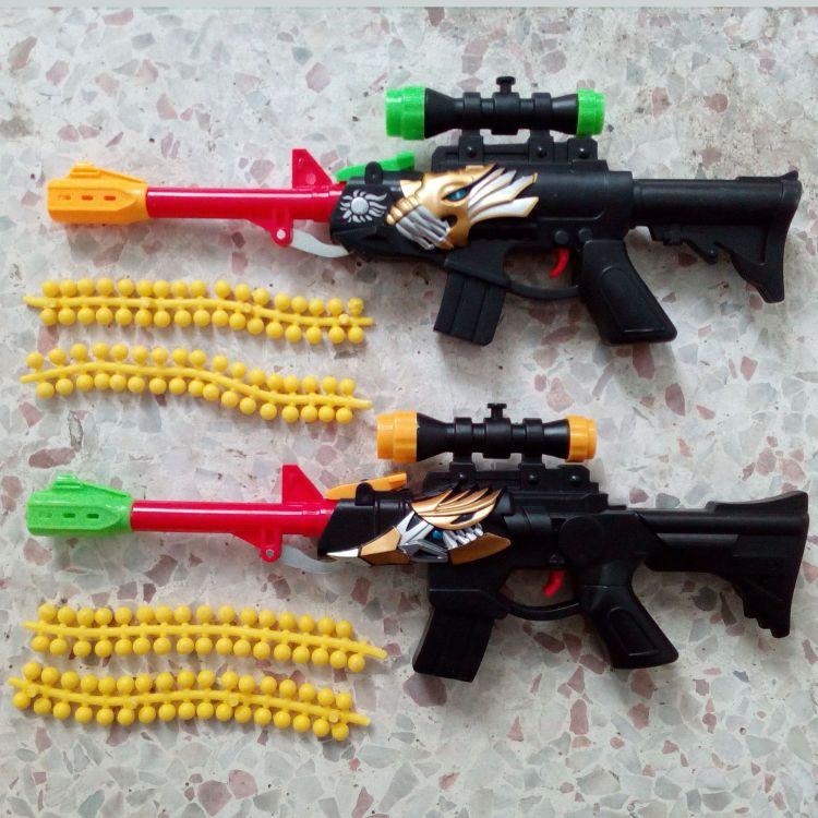 军事模型软弹枪玩具 安全软BB子弹射击玩具 出口内销热卖玩具