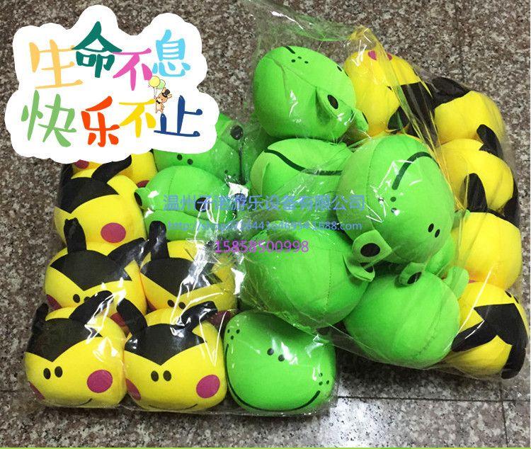 批发儿童礼物沙包 幼儿园卡通动物软沙包 儿童体育用品加工定制