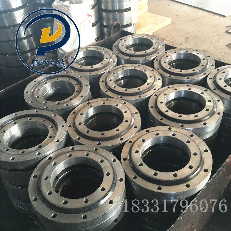 齿轮加工厂家 回转支承吊车转盘 回转支承转盘 小型 加工定制