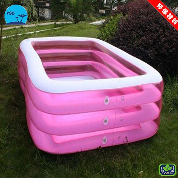 厂家直销家庭儿童游泳池 充气水池儿童 水上游乐设备 支持定制