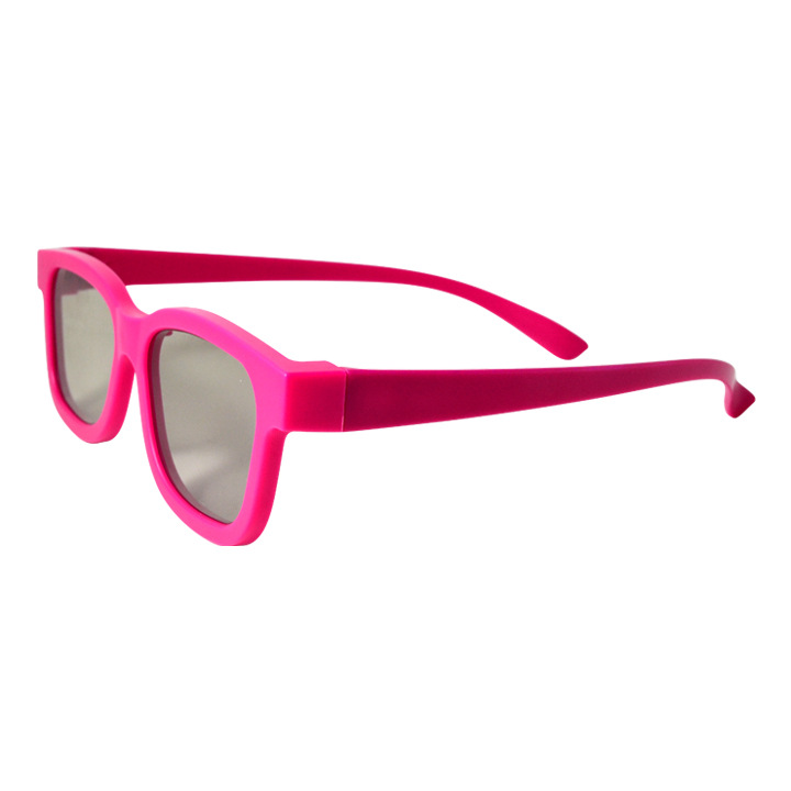 厂家直销儿童款3d眼镜被动式圆偏光儿童3d眼镜电影院