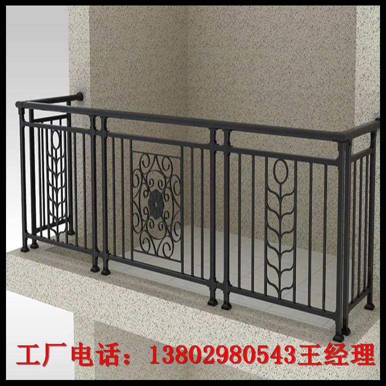 广州厂家定制飘窗栏杆 阳台防护围栏 加工订做别墅锌钢阳台护栏