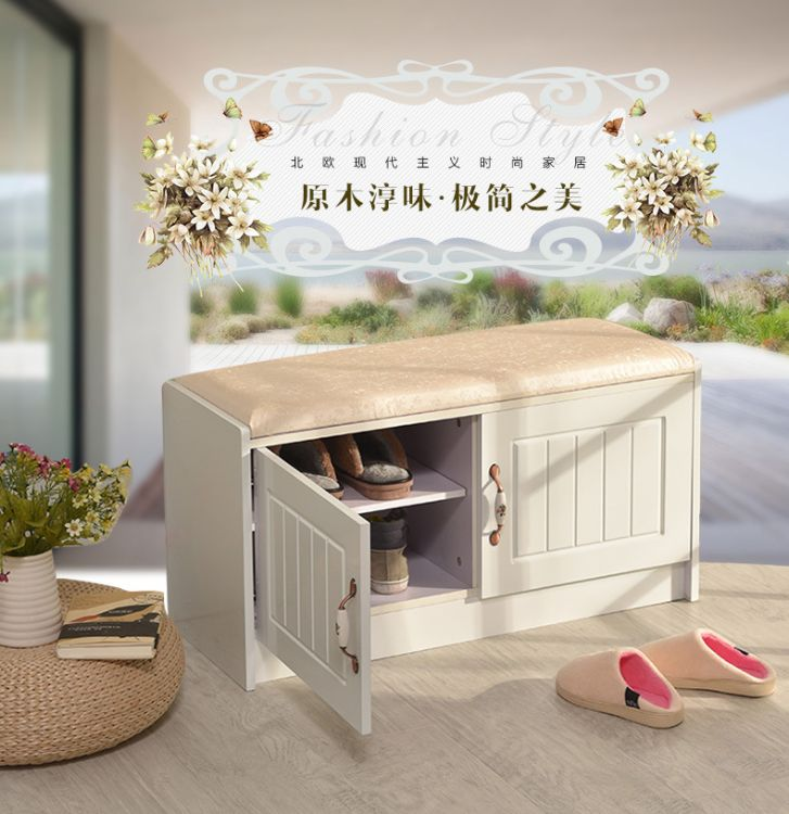 厂家直销特价创意简约现代家具换鞋凳坐凳床尾凳收纳储物凳鞋柜