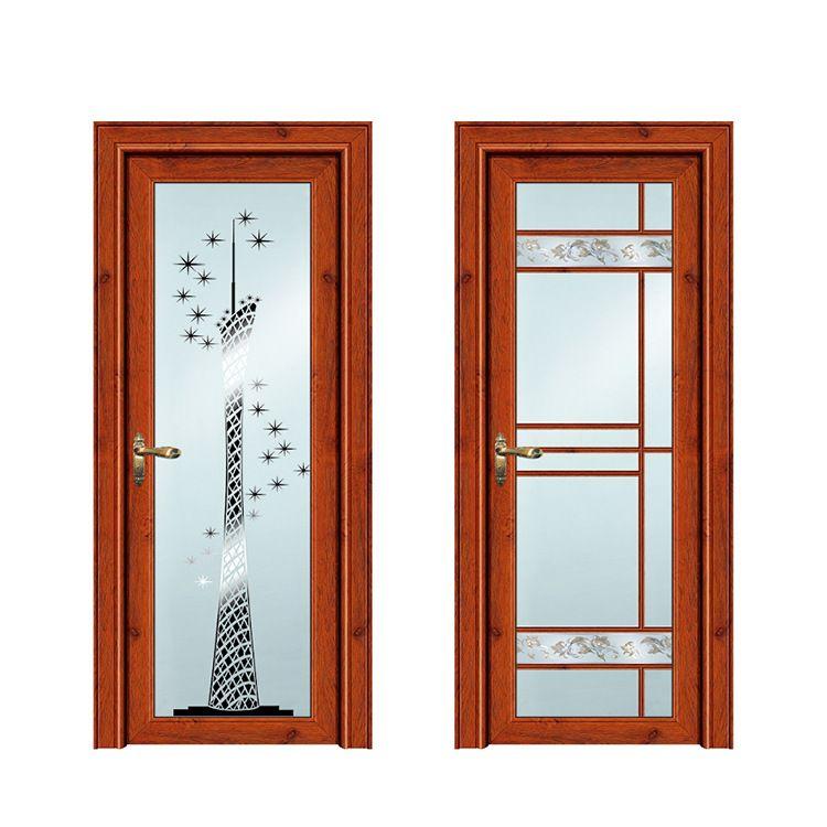 钦州订制优品质整套门欧式隔音双玻卫生间 平开门多款选择批发玻璃门
