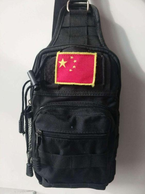 工厂直销军迷战术胸包男士户外运动尼龙防水休闲迷彩单肩包斜挎包