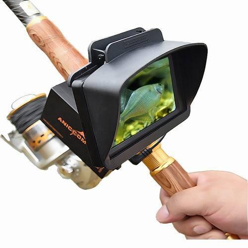 可视钓鱼竿水下摄像头探鱼器打窝找鱼器高档鱼杆鱼轮鱼线鱼具礼品