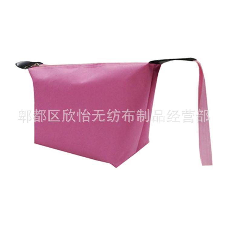 厂家批发各类牛津布袋牛津布化妆袋拉链设计使用方便可印logo