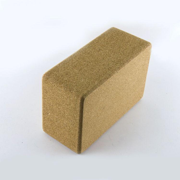 高端环保软木瑜伽砖 高密度健身瑜伽普拉提辅助用品 现货一件代发