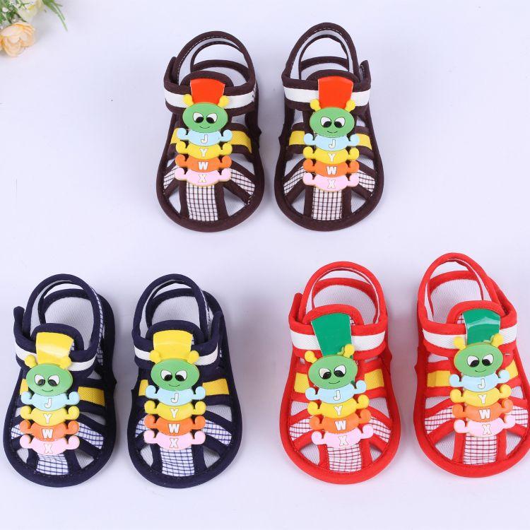 新款童凉鞋动物图案 优质宝宝鞋子外贸 夏季童鞋厂家直销