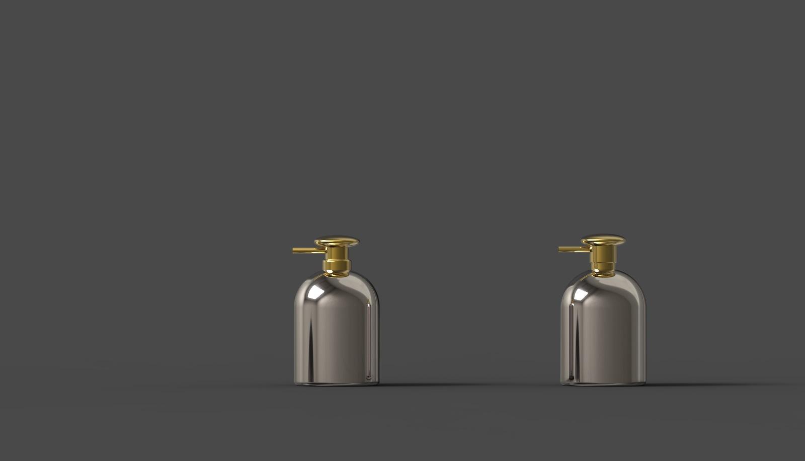 不锈钢洗手液瓶 按压式瓶子 香水瓶  高端定制礼品 源头工厂