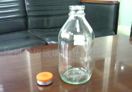 大华 供应各种型号高白料透明医用输液瓶