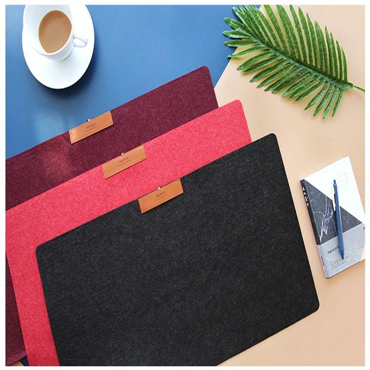 家用超大号游戏鼠标垫广告礼品毛毡办公桌垫键盘垫书桌垫定制logo