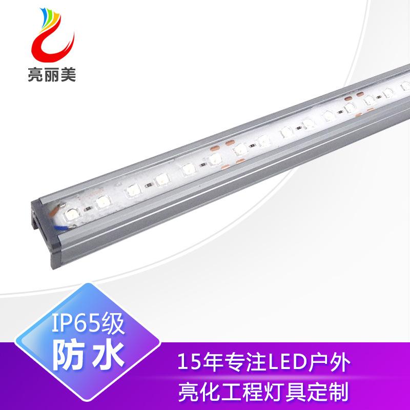 led洗墙灯|防水户外线条灯|户外亮化工程|经典款1米15w小功率