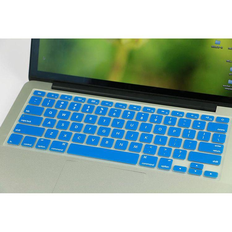 笔记本电脑键盘膜新款Macbook Air13.3Pro15.4硅胶半透键盘保护膜