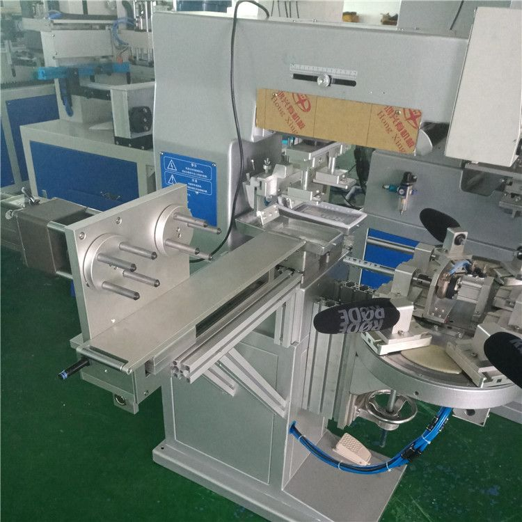袜子LOGO移印机 骏晖印刷机械 厂家供应双色转盘移印机