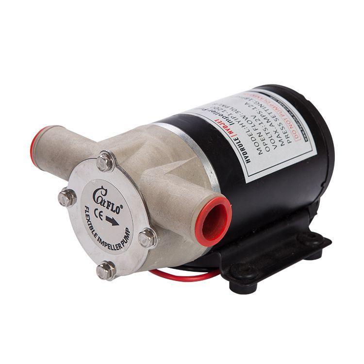 厂家直销供应微型叶片管道自吸泵 海水叶轮舱底泵铸铜高压水泵