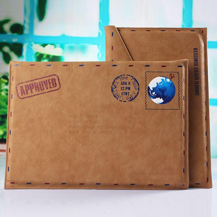 个性13寸平板电脑保护套 Macbook air皮套 软面防摔笔记本信封款