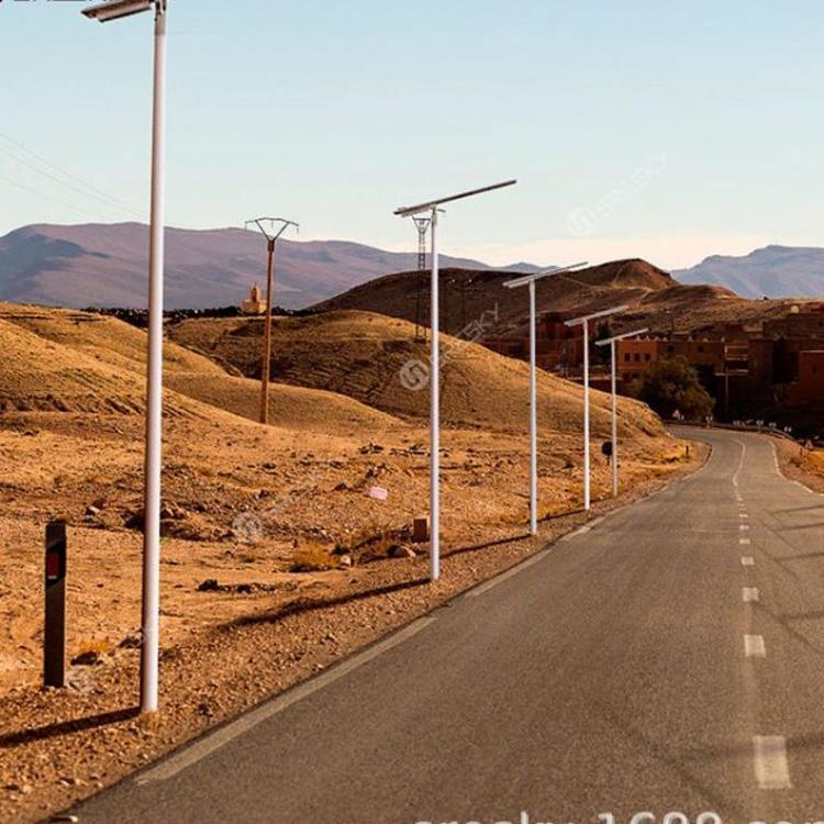 厂家直销人体感应防水太阳能路灯 新农村一体化太阳能户外灯