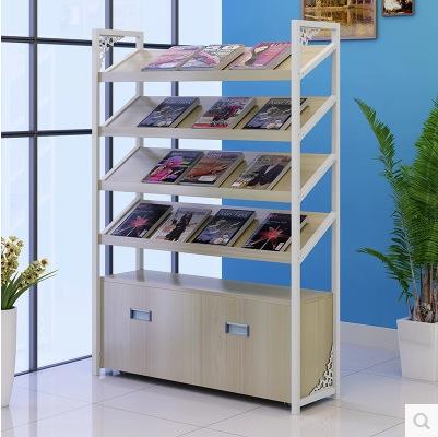 定制图书音像置物架铁艺报刊架杂志陈列展示架