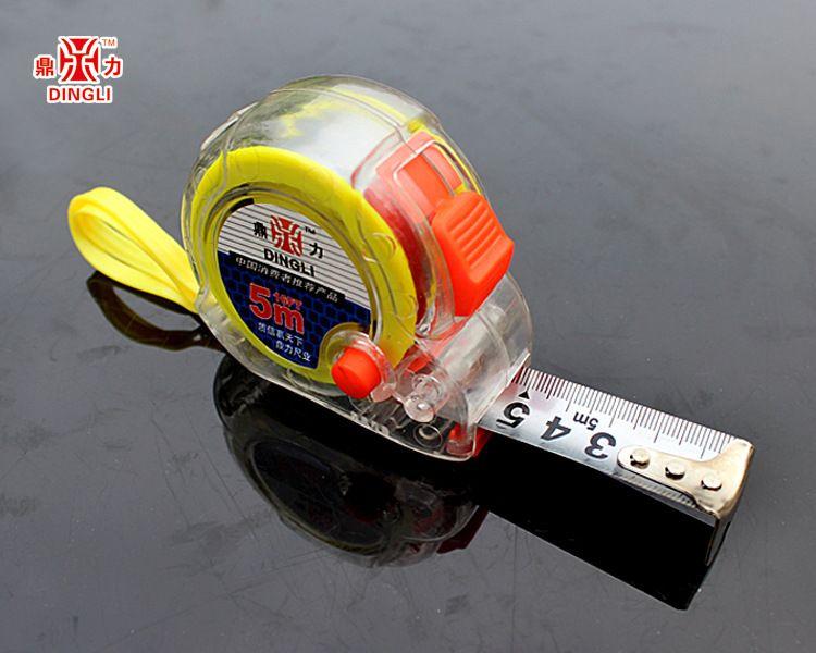 厂家直销透明系列3米-10米钢卷尺耐摔耐磨欢饮订购