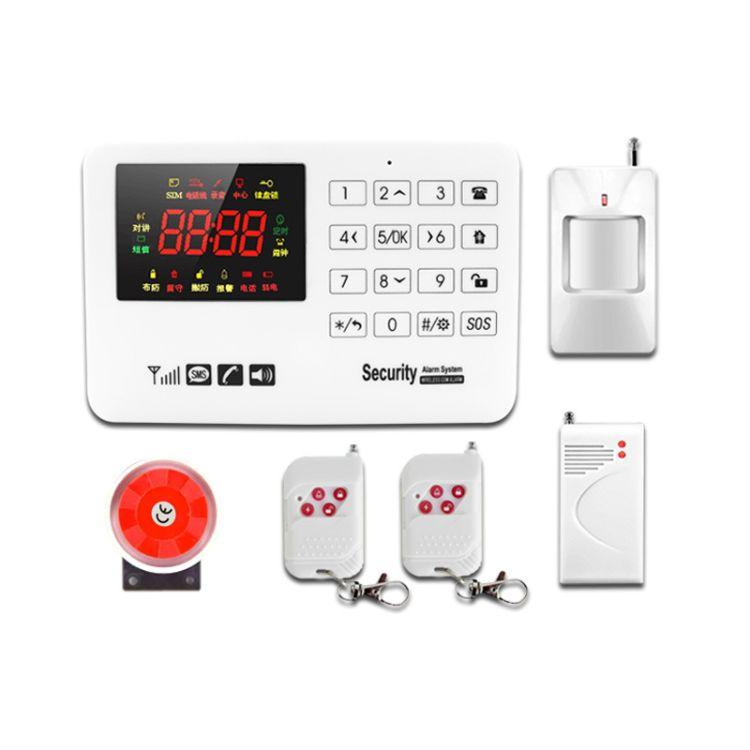 security system gsm报警器外贸 wireless gsm alarm防盗报警设备