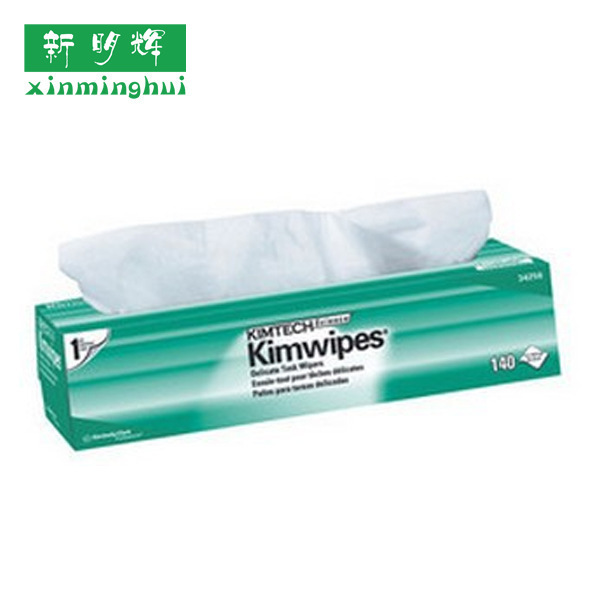 金佰利34256KIMWIPES大号单层低尘擦拭纸工业擦拭纸电子擦拭纸