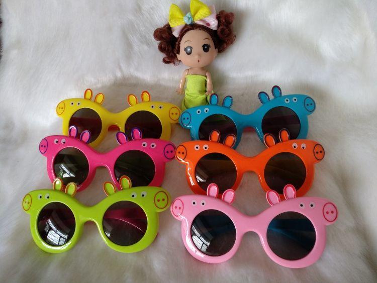 2018新款太阳镜儿童新款防紫外线墨镜卡通眼镜潮款幼儿太阳镜